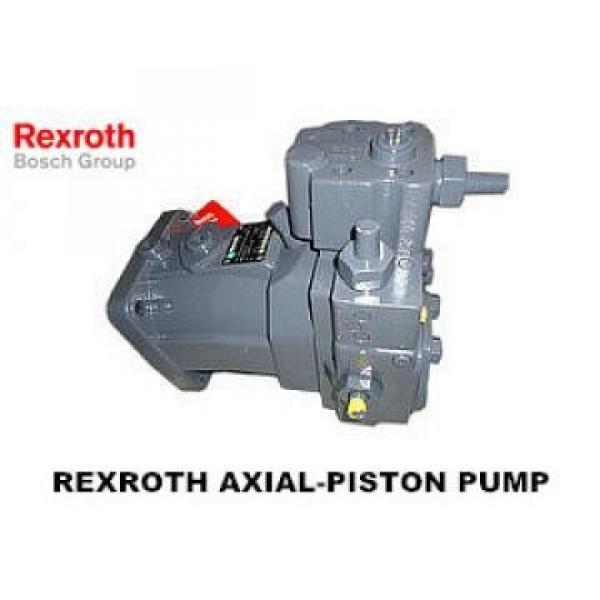 10MCY14-1B high pressure hydraulic axial piston PumpR909611255 A7VO80LRH1/61R-PZB01-S Rexroth Axial Piston Pump #1 image