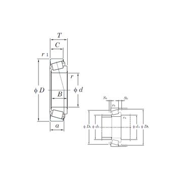 26118/26283S KOYO Tapered Roller Bearings #1 image
