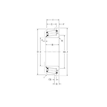 180100/180180C Gamet Tapered Roller Bearings #1 image