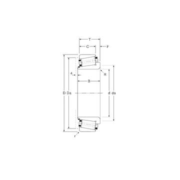 141107X/ 141165X Gamet Tapered Roller Bearings #1 image