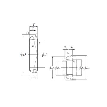 L163149/L163110 KOYO Tapered Roller Bearings #1 image