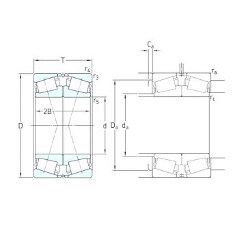 30217J2/QDF SKF Tapered Roller Bearings #1 image
