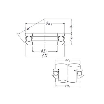 53226X NSK Thrust Ball Bearings #1 image