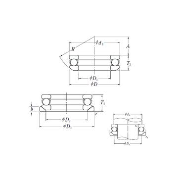 53424XU NSK Thrust Ball Bearings #1 image