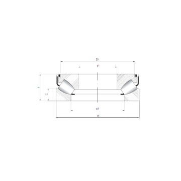 29368 M ISO Thrust Roller Bearings #1 image