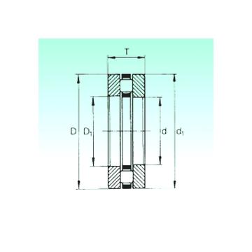 81117TN NBS Thrust Roller Bearings #1 image