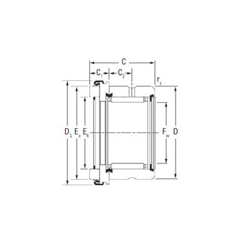 RAX 545 KOYO Complex Bearings #1 image