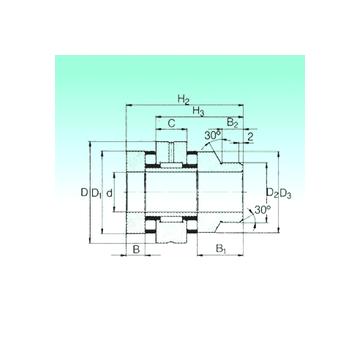 ZARN 3570 L TN NBS Complex Bearings #1 image