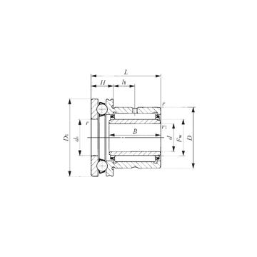 NAXI 5040 IKO Complex Bearings #1 image