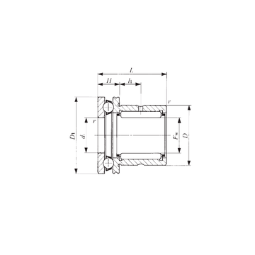 NAX 4032Z IKO Complex Bearings #1 image