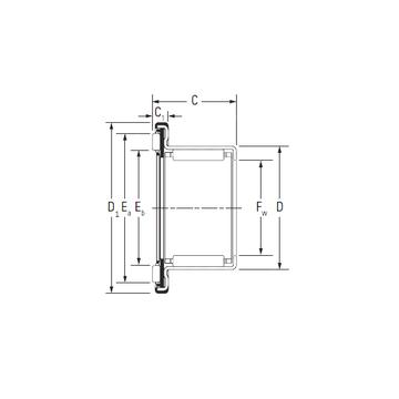 RAX 740 KOYO Complex Bearings #1 image