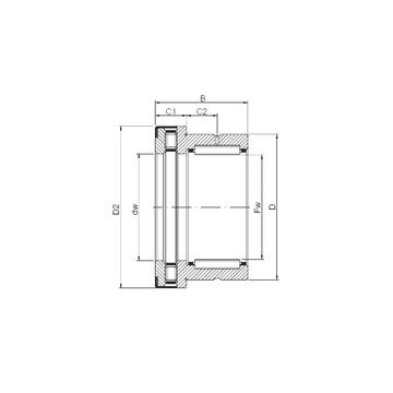 NKXR 30 Z ISO Complex Bearings #1 image