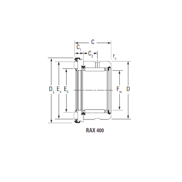 RAX 460 Timken Complex Bearings #1 image