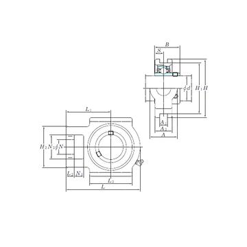 UCTX05E KOYO Bearing Units #1 image