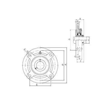 UCFC214 CX Bearing Units #1 image