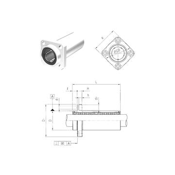 LMKP20LUU Samick Linear Bearings #1 image