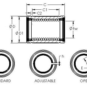 LBE 50 OP AST Linear Bearings #1 image