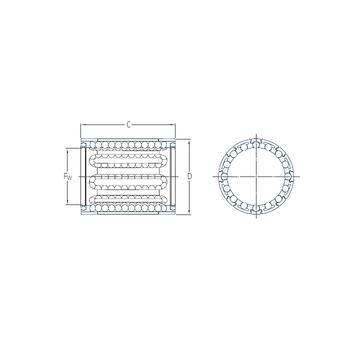 LBBR 14/HV6 SKF Linear Bearings #1 image