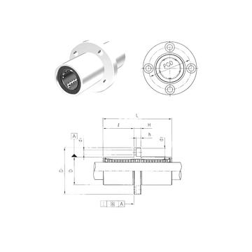 LMEFM60 Samick Linear Bearings #1 image