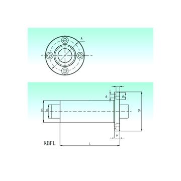 KBFL 60 NBS Linear Bearings #1 image