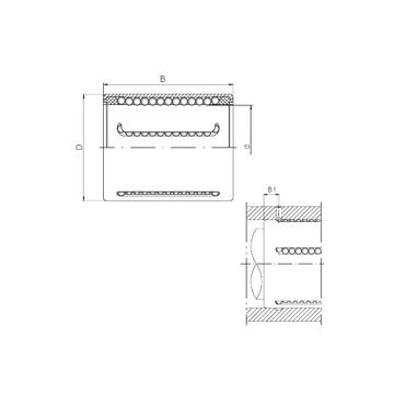 KH1428PP CX Linear Bearings #1 image