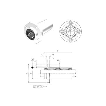 LMEFP16LUU Samick Linear Bearings #1 image
