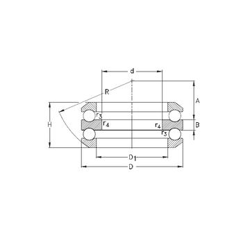 54411 NKE Thrust Ball Bearings #1 image
