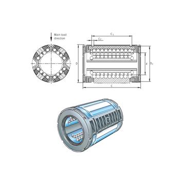 KS20 INA Linear Bearings #1 image