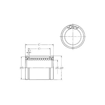 KLM12LL NTN Linear Bearings #1 image