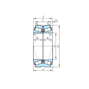 PSL 611-309 PSL Tapered Roller Bearings #1 image