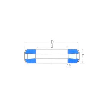 T128 Timken Thrust Roller Bearings #1 image