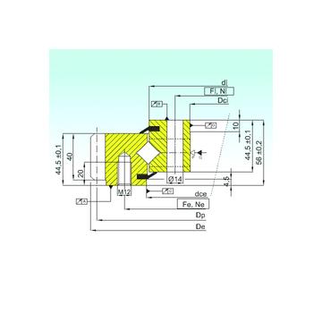 ER1.14.1094.201-3STPN ISB Thrust Roller Bearings #1 image