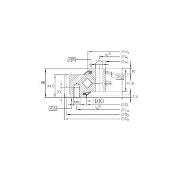 XSA 14 1094 N INA Thrust Roller Bearings #1 image