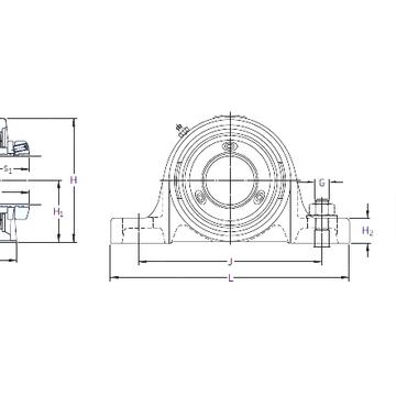 SY 25 PF SKF Bearing Units #1 image