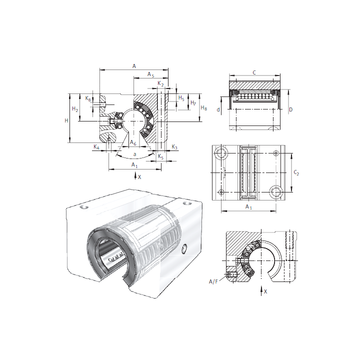 KGSNOS40-PP-AS INA Linear Bearings #1 image